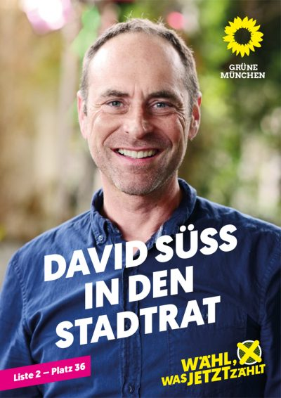 David Süß in den Stadtrat